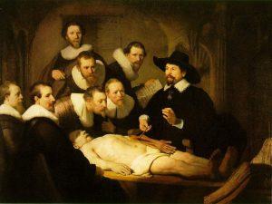 Rembrandt van Rijn - Lekcja anatomii doktora Tulpa, 1632