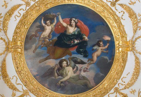 Jutrzenka – Jan Reisner, ok. 1684, obraz plafonowy