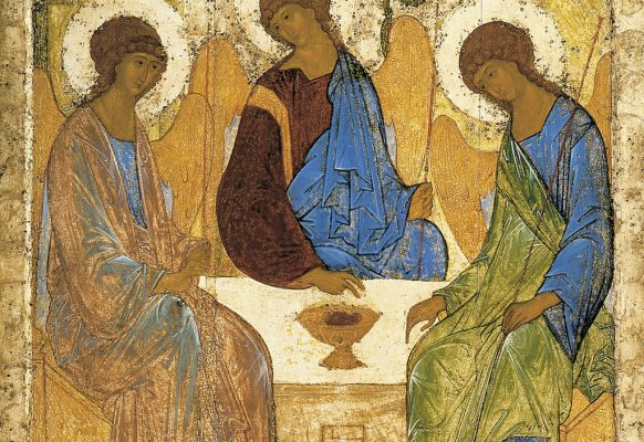Trójca Święta – Andriej Rublow, 1410, tempera na desce