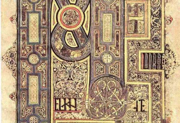 iluminacje Księgi z Kells – autor nieznany, X w.