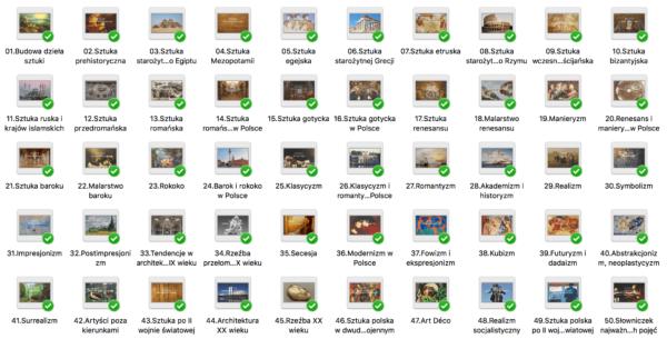 50 prezentacji – od prehistorii do współczesności
