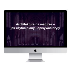 """Webinar """"Architektura na maturze – jak czytać plany i opisywać bryły"""""""