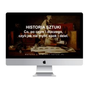 """Webinar """"Historia sztuki – co, po czym i dlaczego, czyli jak nie mylić epok i dzieł"""""""