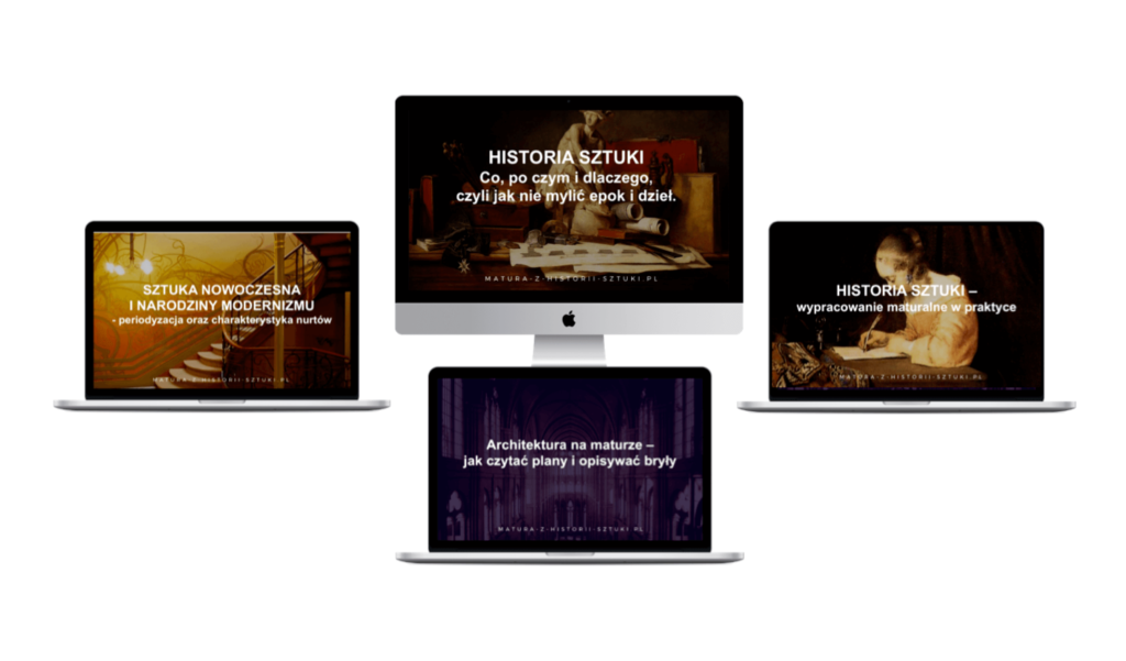 Matura z Historii Sztuki - zestaw 4 webinarów