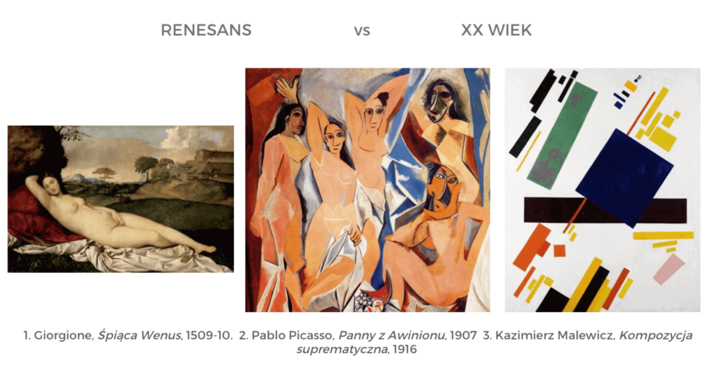 historia sztuki - rewolucje artystyczne matura