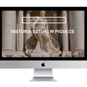 "Kurs ""Historia sztuki w pigułce"""