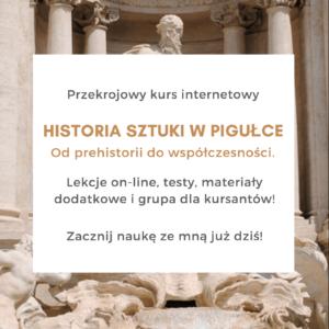 Kurs Historia sztuki w pigulce matura